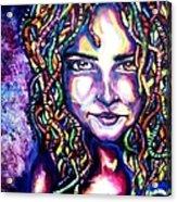 If Looks Could Kill Acrylic Print by Shana Rowe Jackson