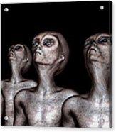 If One Was Three Acrylic Print by Bob Orsillo