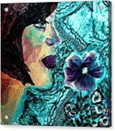 Ilana Acrylic Print by Diane Fine