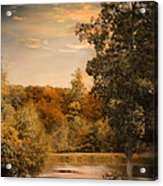 Impending Autumn Acrylic Print by Jai Johnson