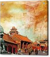 Imperial Palaces Of The Ming And Qing Dynasties In Beijing And Shenyang Acrylic Print by Catf