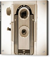 Imperial Reflex Camera Acrylic Print by Mike McGlothlen