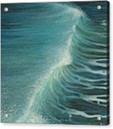 Impetus Summer Wave Acrylic Print by Kiril Stanchev