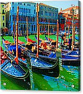 Impressionistic Photo Paint Gs 009 Acrylic Print by Catf