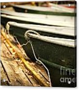 In A Line Acrylic Print by Todd Bielby