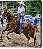 In It To Win It Acrylic Print by Gary Keesler