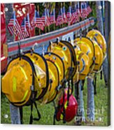 In Memory Of 19 Brave Firefighters  Acrylic Print by Rene Triay Photography