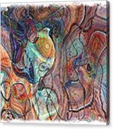 In My Minds Eye Acrylic Print by Susan Leggett