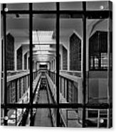In The Clink Acrylic Print by Benjamin Yeager