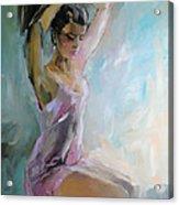 In The Morning Acrylic Print by Nelya Shenklyarska