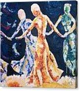In Their Midst Acrylic Print by Rhonda Falls