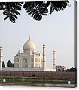 India, Temple Burial Site Seen Acrylic Print by Bill Bachmann