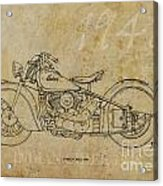 Indian Chief 1948 Acrylic Print by Pablo Franchi