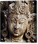 Indian Goddess Acrylic Print by Tim Gainey