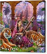 Indian Harmony Acrylic Print by Jan Patrik Krasny