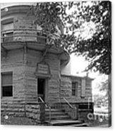 Indiana University Kirkwood Observatory Acrylic Print by University Icons