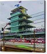 Indianapolis 500 May 2013 Square Acrylic Print by David Haskett