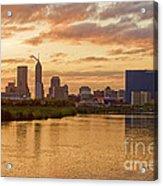 Indianapolis Sunrise Acrylic Print by David Haskett