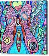 Inner Goddess Acrylic Print by Kim Larocque