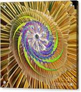Inner Twister Acrylic Print by Deborah Benoit