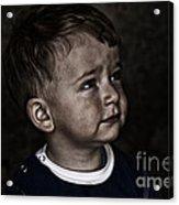 Innocent Acrylic Print by Zafer GUDER