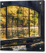 Inside The Old Spring House Acrylic Print by Scott Norris