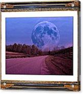 Inspiration In The Night Acrylic Print by Betsy Knapp