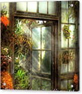 Inspirational - The Door To Paradise - Peter 1-11 Acrylic Print by Mike Savad