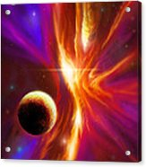 Intersteller Supernova Acrylic Print by James Christopher Hill