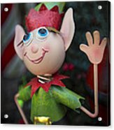 Introduce Yours-elf Acrylic Print by Evelina Kremsdorf