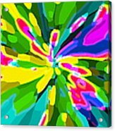 Iphone Cases Colorful Flowers Abstract Roses Gardenias Tiger Lily Florals Carole Spandau Cbs Art 181 Acrylic Print by Carole Spandau