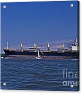 Is Big Really Better Acrylic Print by Skip Willits
