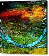 Islamic Caligraphy 005 Acrylic Print by Catf