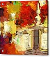 Islamic Painting 003 Acrylic Print by Catf
