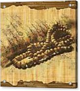 Islamic Painting 013 Acrylic Print by Catf