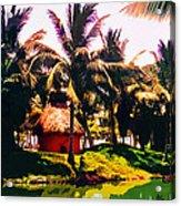 Island Paradise Acrylic Print by CHAZ Daugherty