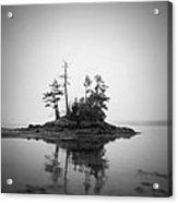Island Acrylic Print by Patrick Downey