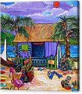 Island Time Acrylic Print by Patti Schermerhorn