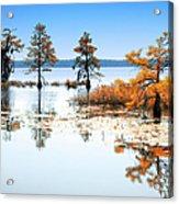 Isle Of Peace - North Carolina Acrylic Print by Dan Carmichael