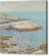 Isles Of Shoals Acrylic Print by Childe Hassam