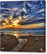 Israel Sweet Child In Time Acrylic Print by Ron Shoshani