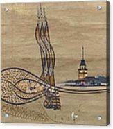 Istanbul Acrylic Print by Ayhan Altun