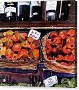 Italian Market Acrylic Print by Susie Jernigan