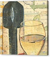 Italian Wine And Grapes 1 Acrylic Print by Debbie DeWitt