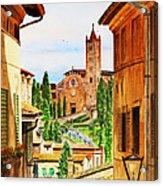 Italy Siena Acrylic Print by Irina Sztukowski