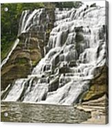 Ithaca Falls Acrylic Print by Anthony Sacco