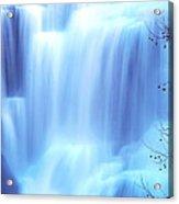 Ithaca Water Falls New York  Acrylic Print by Paul Ge