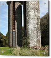 Jack London Ranch Silos 5d22160 Acrylic Print by Wingsdomain Art and Photography