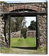Jack London Ranch Winery Ruins 5d22128 Acrylic Print by Wingsdomain Art and Photography