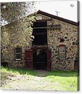 Jack London Sherry Barn 5d22070 Acrylic Print by Wingsdomain Art and Photography